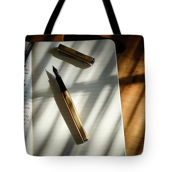 Tote Bag featuring the photograph Warm Gold Colors by Monte Stevens