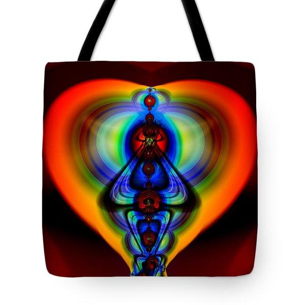 Warm Heart Tote Bag