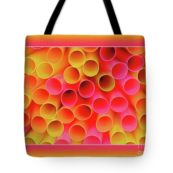 Tote Bag featuring the photograph Warm In Neon By Kaye Menner by Kaye Menner
