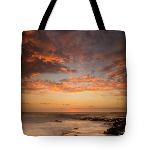 Warm Kona Sunset Tote Bag