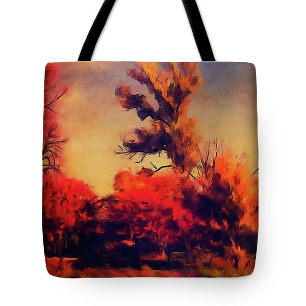 Warm Memories Tote Bag by Paul Cristian Panaete
