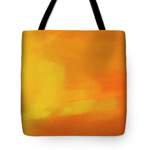 Tote Bag featuring the digital art Warm Moment by John Hansen