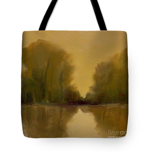 Warm Morning Tote Bag