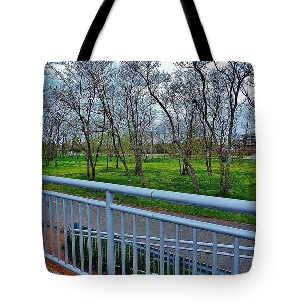 Warm Rainforest  Tote Bag