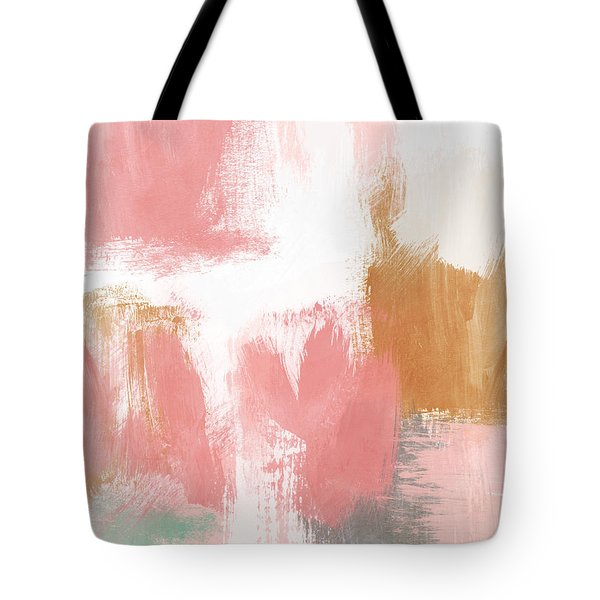 Warm Spring- Abstract Art By Linda Woods Tote Bag