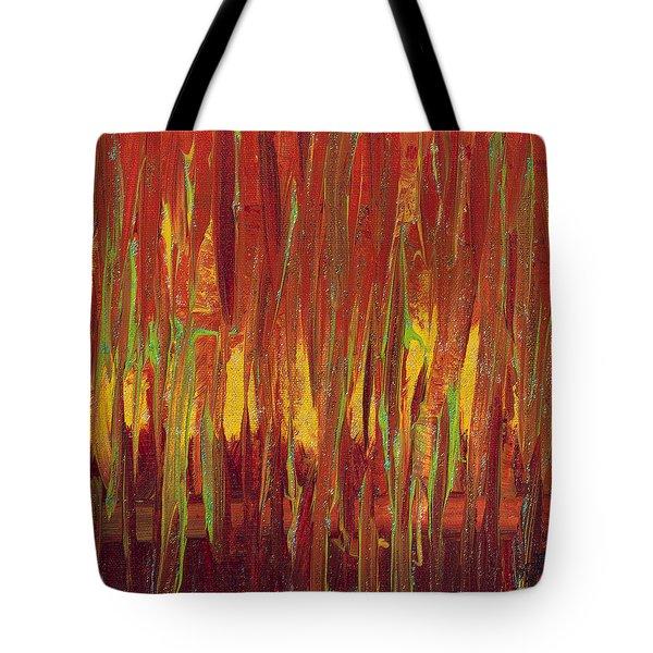 Warm Tones Tote Bag