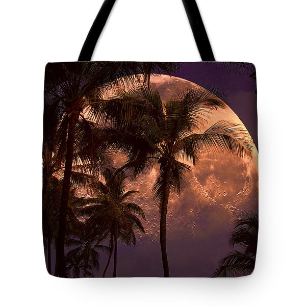 Warm Tropical Nights Tote Bag by John Rivera