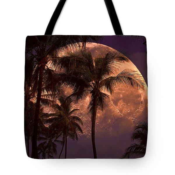Warm Tropical Nights Tote Bag