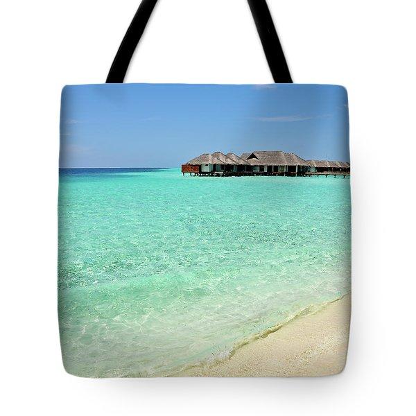 Warm Welcoming. Maldives Tote Bag