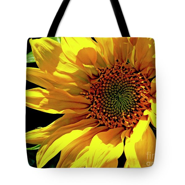 Warm Welcoming Sunflower Tote Bag