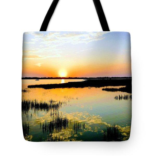 Warm Wet Wild Tote Bag