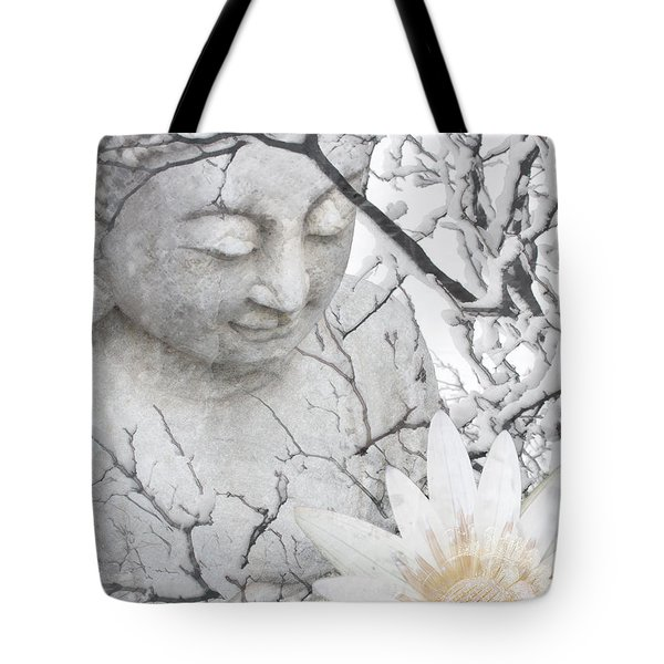 Warm Winter's Moment Tote Bag