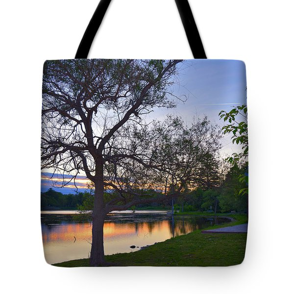Warming House Tote Bag