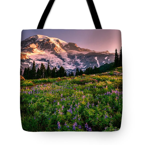 Warming Up In Paradise Tote Bag