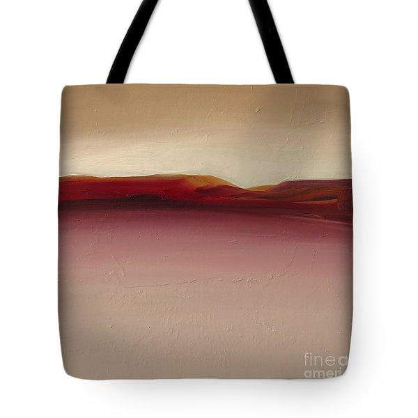 Warm Mountains Tote Bag
