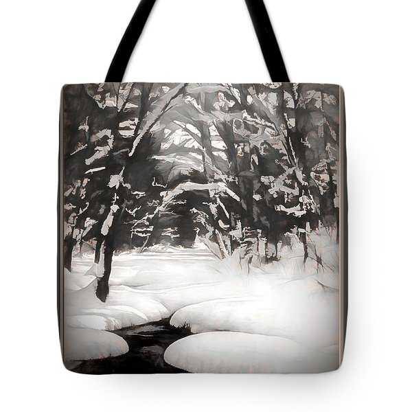 Warmth Of A Winter Day Tote Bag