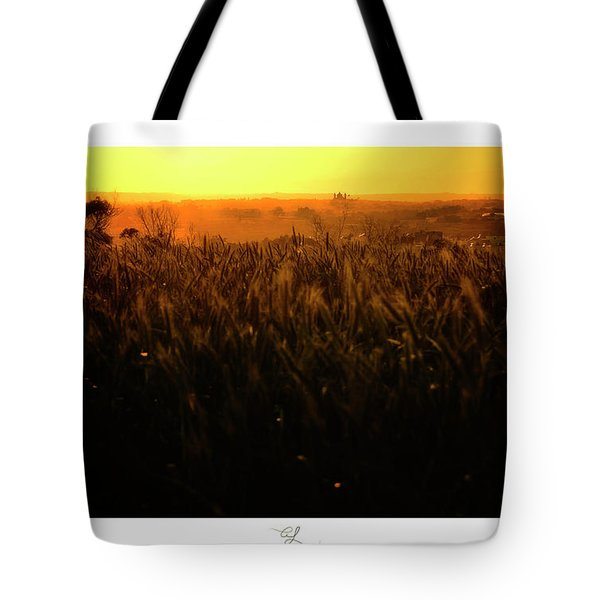 Warmth Of A Yellow Sun Tote Bag