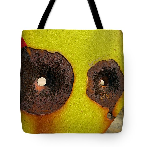 Warning Shot Tote Bag by Skip Hunt