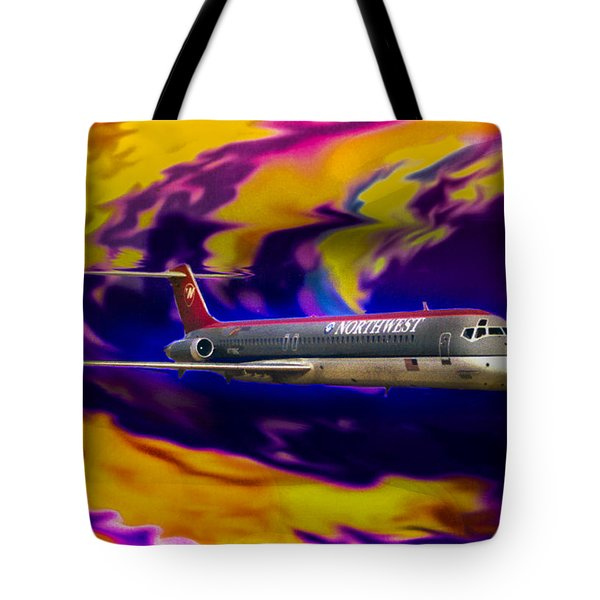 Warp 7 Tote Bag by J Griff Griffin