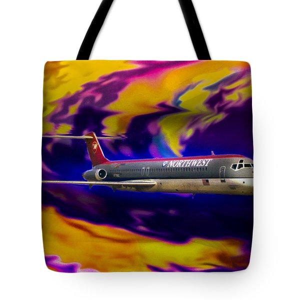 Warp 7 Tote Bag