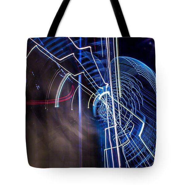 Warp Tote Bag by Micah Goff