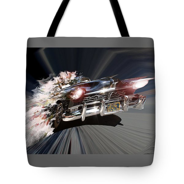 Tote Bag featuring the photograph Warp Speed by Christopher Woods