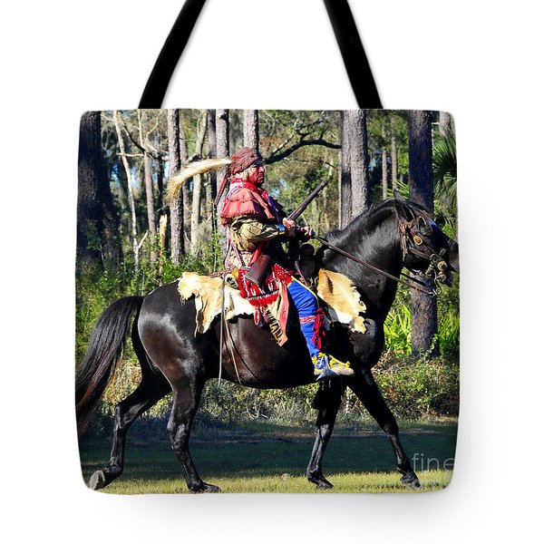 Warpath Tote Bag by David Lee Thompson