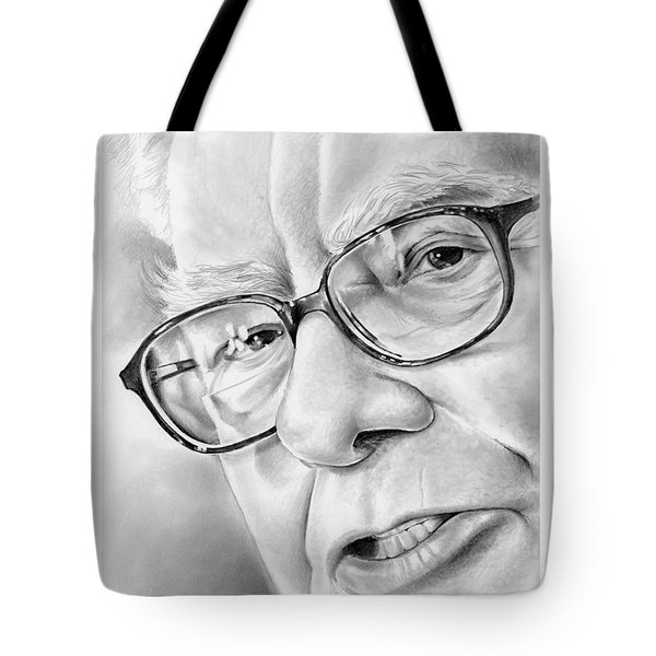 Warren Buffett Tote Bag