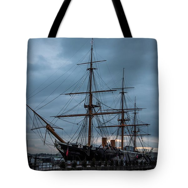 Warrior At Christmas Tote Bag