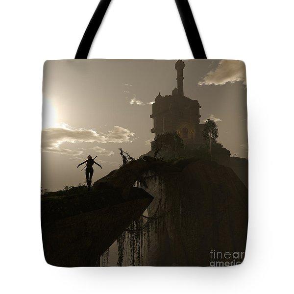 Warrior Fae Tote Bag