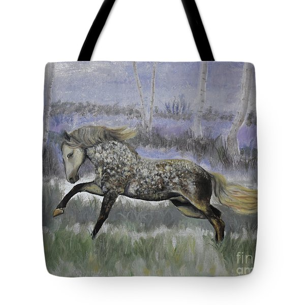 Warrior Of Magical Realms Tote Bag