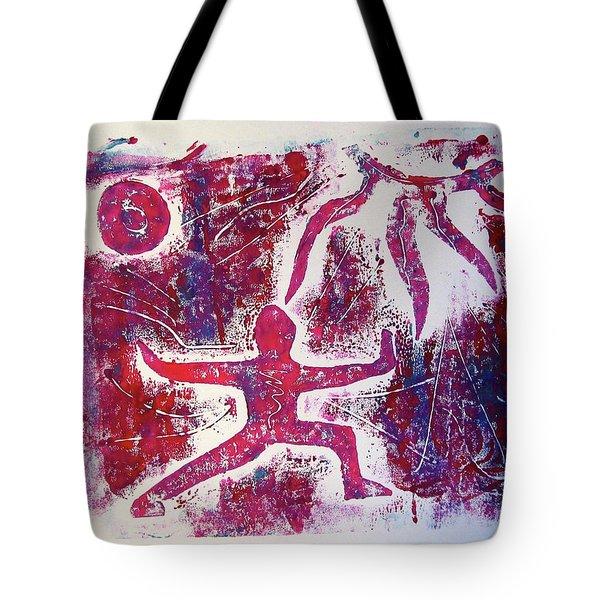 Warrior One  Tote Bag