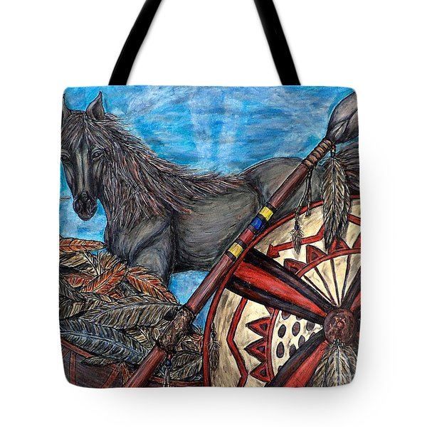 Warrior Spirit Tote Bag
