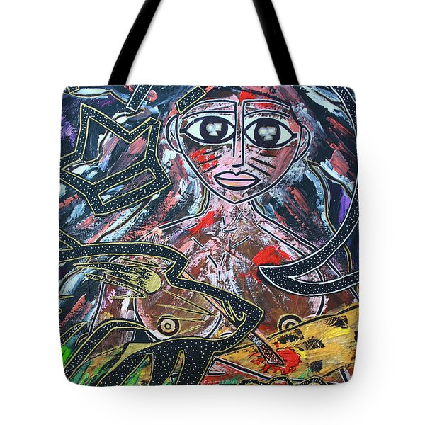 Warrior Spirit Woman Tote Bag