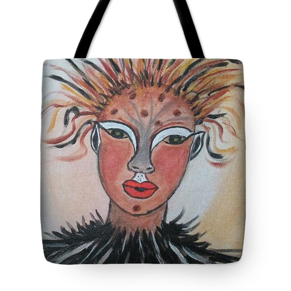 Warrior Woman  #3 Tote Bag