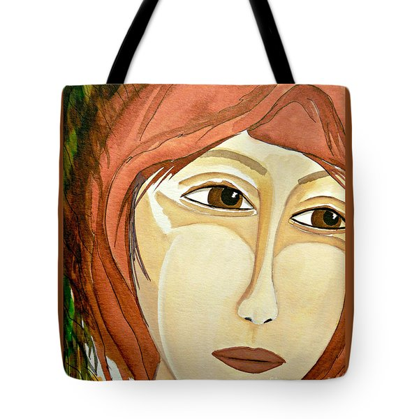 Warrior Woman - No Apologies Tote Bag by Jean Fry