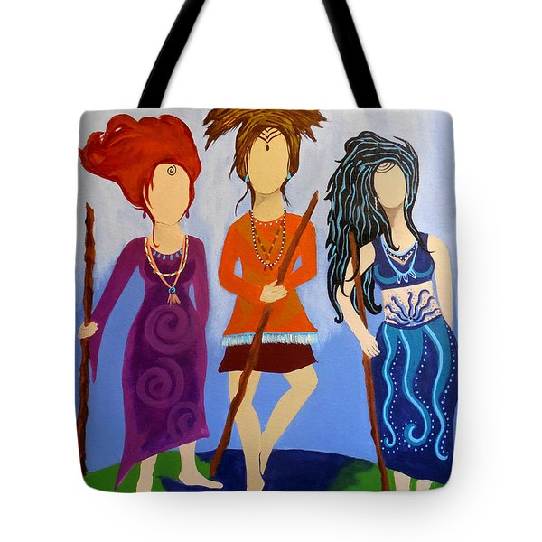 Warrior Woman Sisterhood Tote Bag by Jean Fry