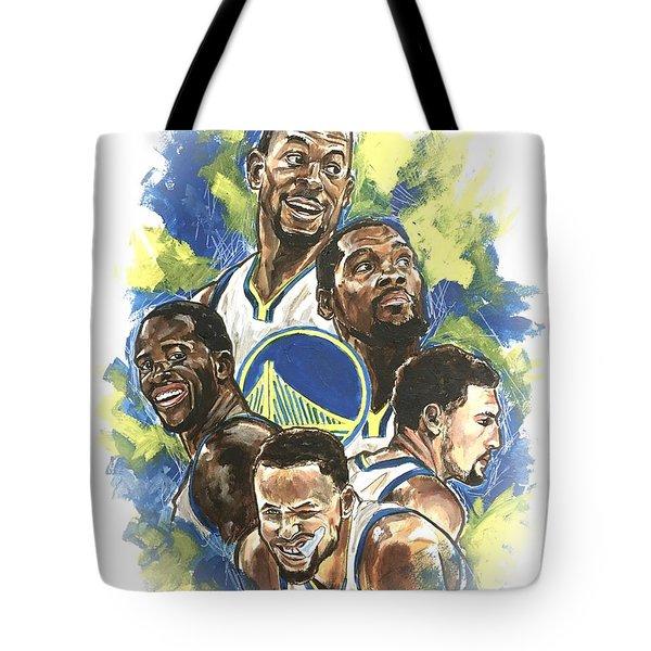 Warriors Tote Bag