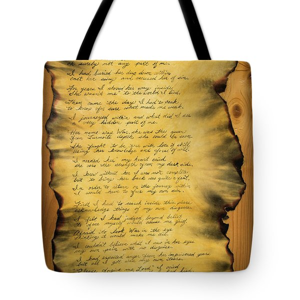 War's Poem Tote Bag