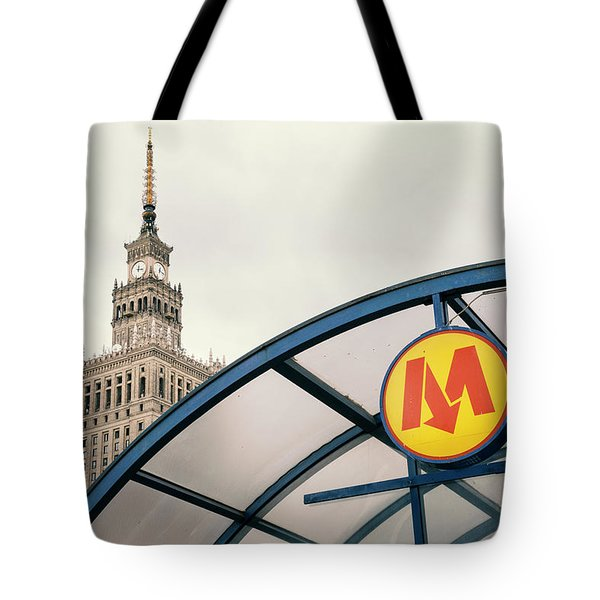 Tote Bag featuring the photograph Warsaw by Chevy Fleet
