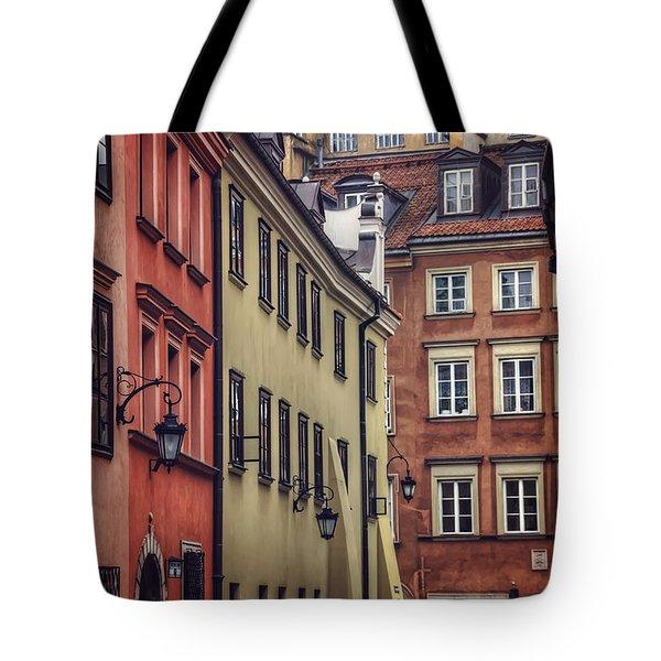 Warsaw Old Town Charm Tote Bag by Carol Japp