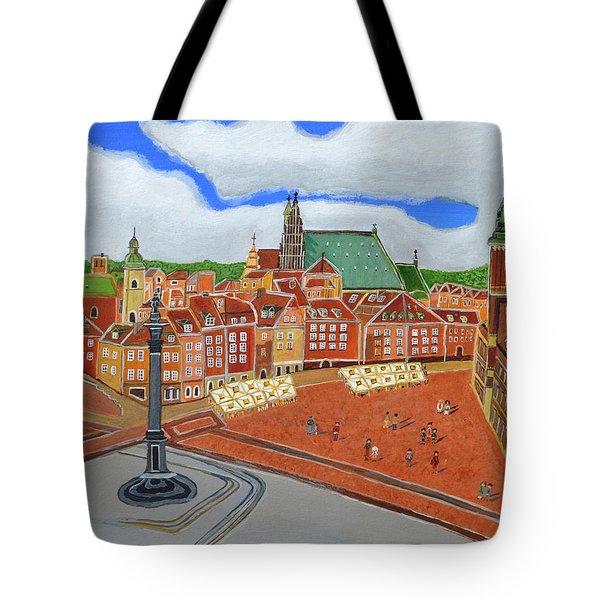 Warsaw- Old Town Tote Bag