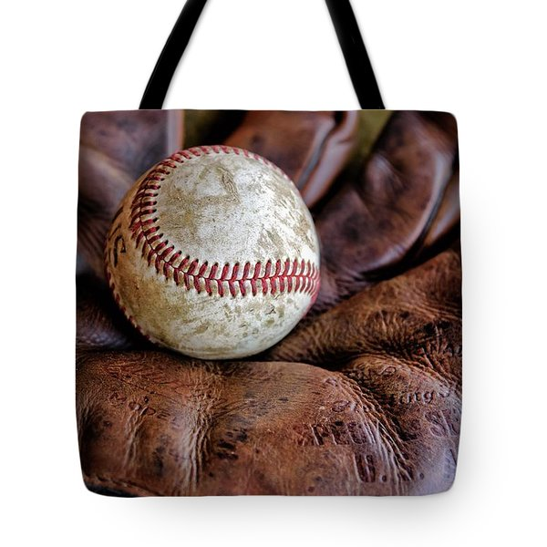Wartime Baseball Tote Bag