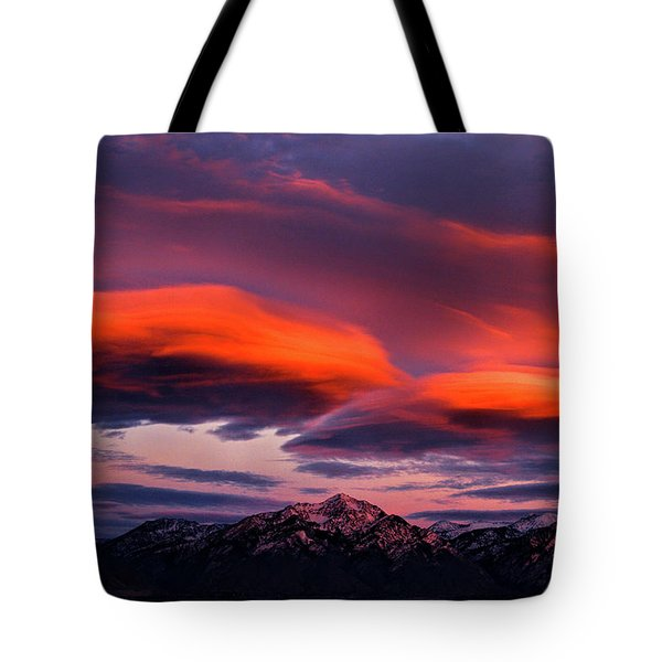 Wasatch Sunrise II Tote Bag
