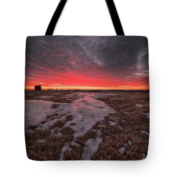 Wascana Dawn Tote Bag by Ian McGregor
