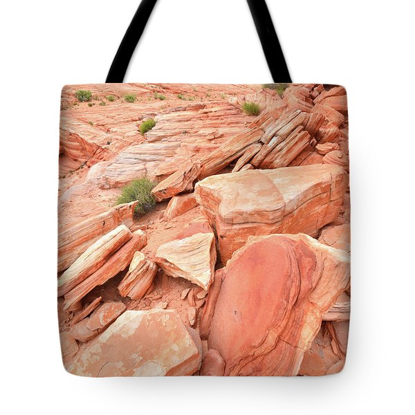 Tote Bag featuring the photograph Wash 4 Color In Valley Of Fire by Ray Mathis