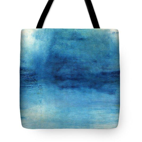 Wash Away- Abstract Art By Linda Woods Tote Bag