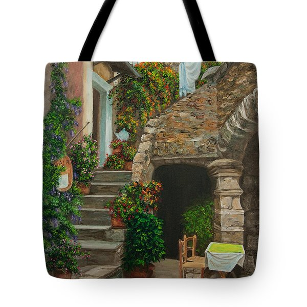 Wash Day Tote Bag by Charlotte Blanchard