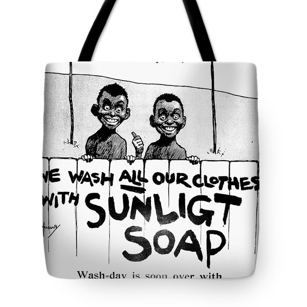 Tote Bag featuring the digital art Wash-day Is Soon Over by Reinvintaged