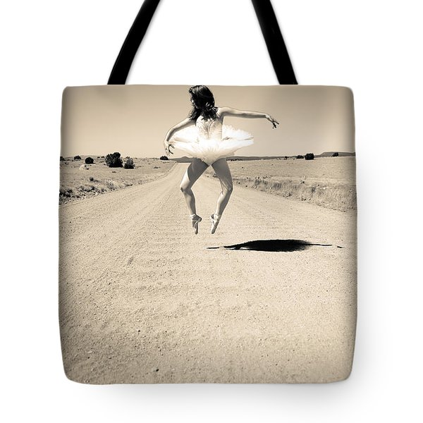 Washboard Ballet Tote Bag
